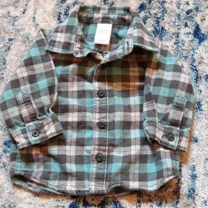 Checked Baby Flannel